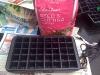 empty seed tray