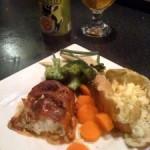 Cod with Spicy Pesto and Parma Ham