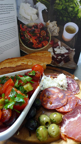 Jamie oliver and top tapas combine