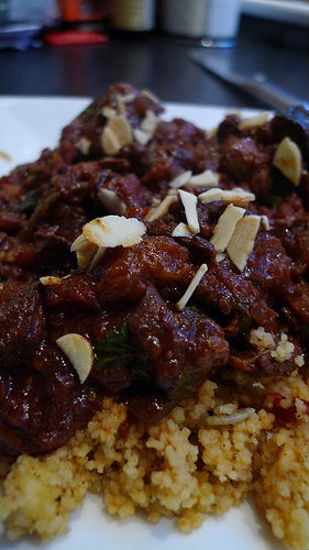 Moroccan spiced lamb