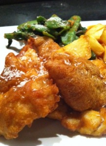 Thai Spiced Fish and Chips