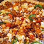 Dominos Reggae Reggae Pizza