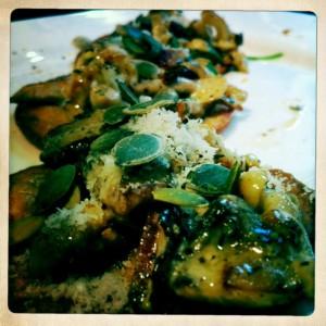 mushroom tostadas recipe