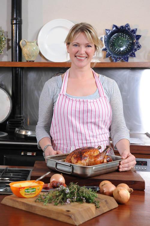 Rachel Allen's Roast Chicken With Chorizo Stuffing