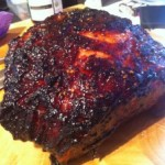 Chilli and Cherry Glazed Ham