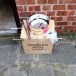 Home-made Cardboard box cold smoker