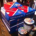Dominos Gourmet Pizza Range