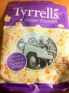 Tyrell's Sour Cream and Jalapeño Popcorn