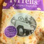 Tyrell's Sour Cream and Jalapeño Popcorn
