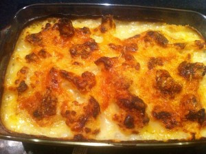 chilli cauliflower cheese