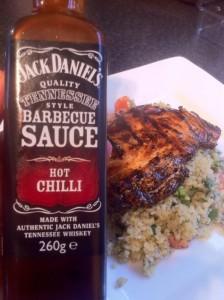 Jack Daniels Hot chilli sauce