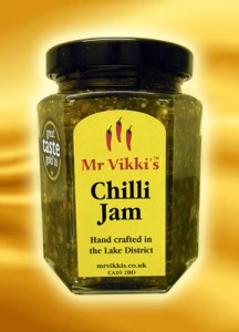 mr vikkis green chilli jam