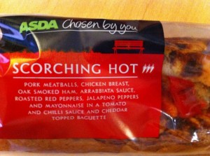asda scorching hot baguette