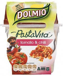 dolmio pastavita tomato and chilli pasta pot
