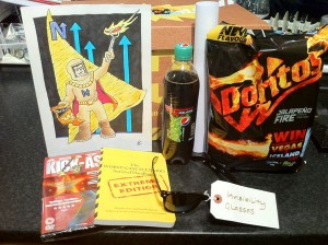 Doritos and Max Jalapeno Fire Crisps and Pepsi Max citrus freeze