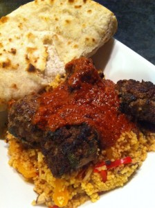 Moroccan inspired meatball recipe