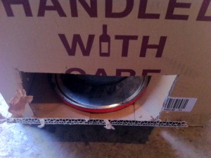 Cardboard Box Smoker Bottom