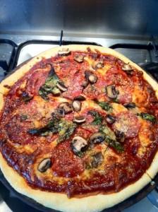 smoked chilli and fennel pizza recipe