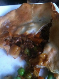 Hairy Dieters Low fat meat pie