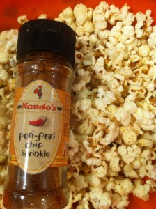 nando's peri peri chip sprinkle popcorn