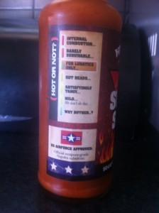 Hickory's Suicide sauce